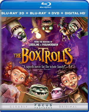 The Boxtrolls 3D Blu-ray