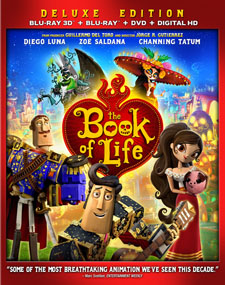 The Book of Life 3D Blu-ray