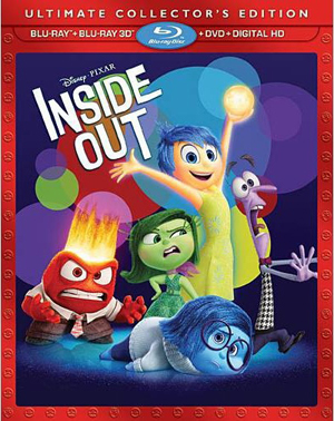 Inside Out 3D Blu-ray