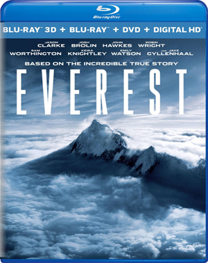 Everest 3D Blu-ray