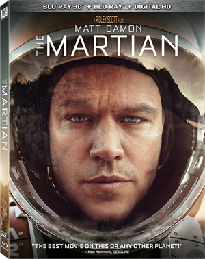 The Martian 3D Blu-ray