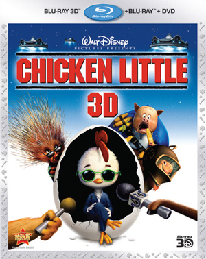 Chicken Little 3D Blu-ray