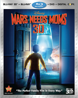 Mars Needs Moms 3D Blu-ray