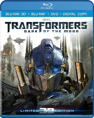Transformers - Dark of the Moon 3D Blu-ray