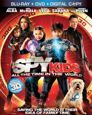 Spy Kids: All the Time in the World 3D Blu-ray