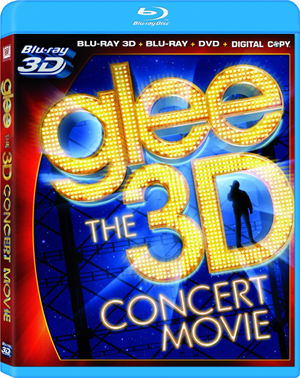 Glee: The 3D Concert Movie 3D Blu-ray