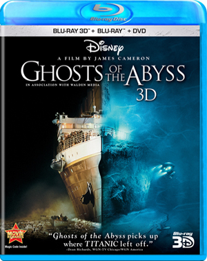 Ghosts of the Abyss 3D Blu-ray