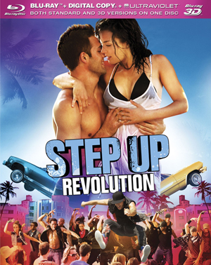 Step Up 4: Revolution 3D Blu-ray
