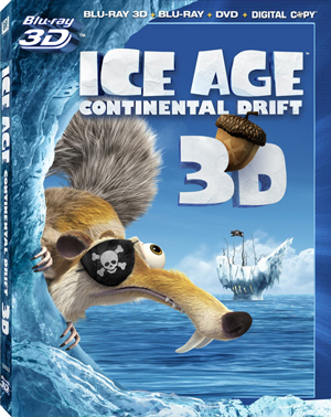 Ice Age: Continental Drift 3D Blu-ray