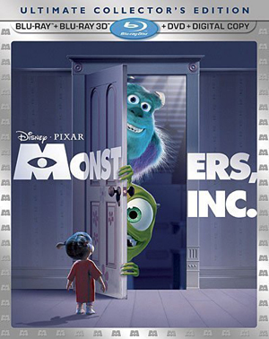 Monsters, Inc. 3D Blu-ray