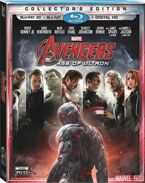 Avengers: Age of Ultron 3D Blu-ray