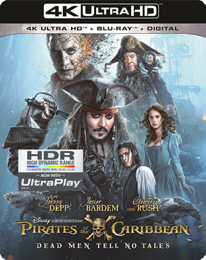 Pirates of the Caribbean: Dead Men Tell No Tales 4K Blu-ray