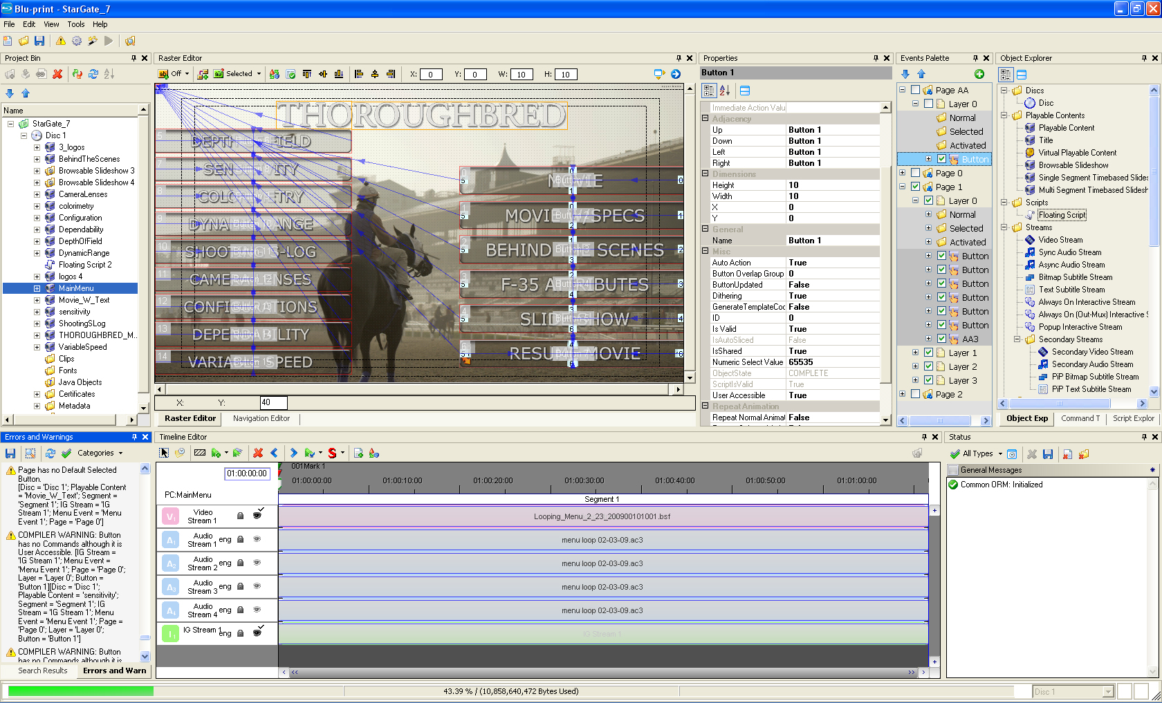 Sony blu print 2d3d blu ray disc authoring system blu print navigation editor blu print raster editor 1 malvernweather Image collections