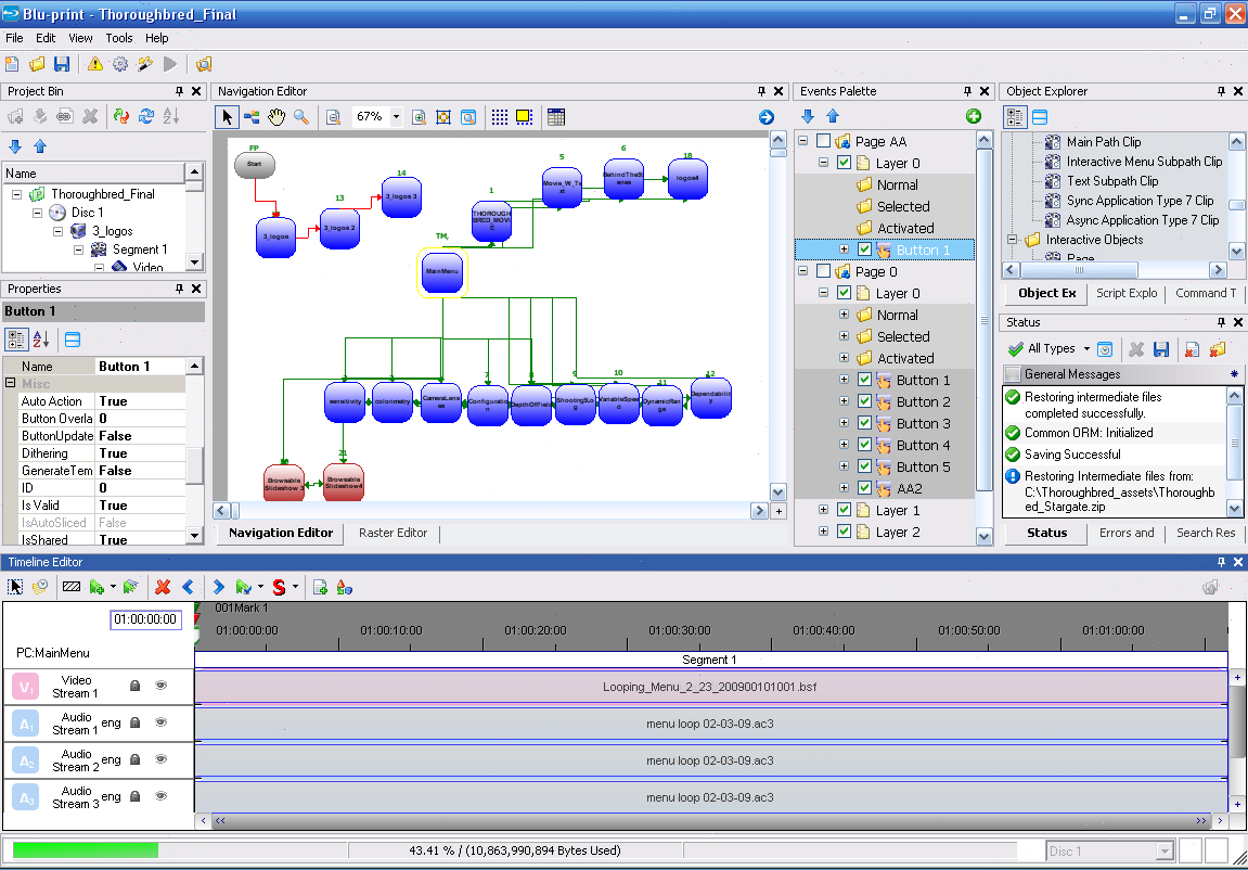 Sony blu print 2d3d blu ray disc authoring system blu print raster editor 2 malvernweather Images