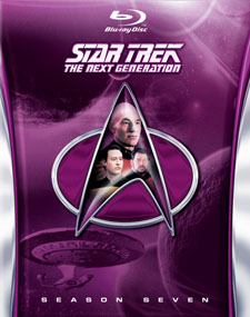 Star Trek: The Next Generation, Season 7 Blu-ray