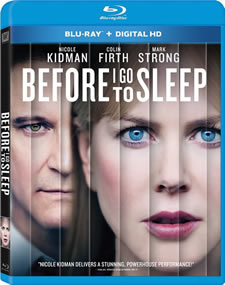 Before I Go to Sleep Blu-ray