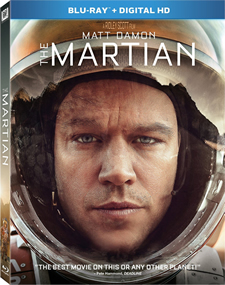 The Martian Blu-ray