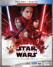 Star Wars: Episode VIII - The Last Jedi Blu-ray