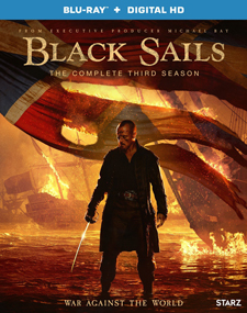 Black Sails: Season Three Blu-ray