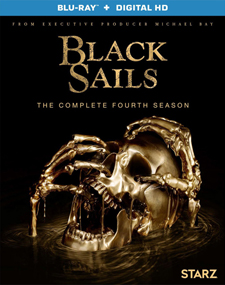 Black Sails: The Complete Fourth Season Blu-ray