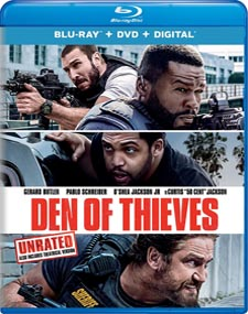 Den of Thieves Blu-ray