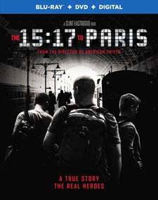 The 15:17 to Paris Blu-ray