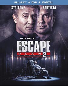 Escape Plan 2: Hades Blu-ray
