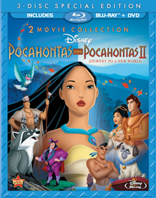 Pocahontas / Pocahontas II: Journey to a New World Blu-ray