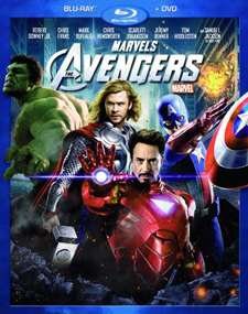 The Avengers Blu-ray