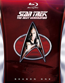 Star Trek: The Next Generation, Season 1 Blu-ray