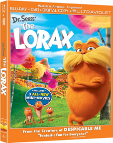 Dr. Seuss' The Lorax Blu-ray