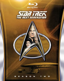 Star Trek: The Next Generation, Season 2 Blu-ray