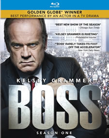 Boss Season One Blu-ray