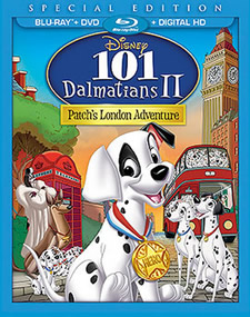 101 Dalmatians II: Patch's London Adventure Blu-ray