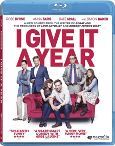 I Give It a Year Blu-ray