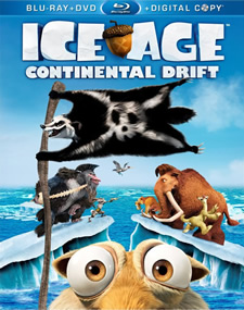 Ice Age: Continental Drift Blu-ray