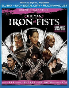 The Man with the Iron Fists Blu-ray