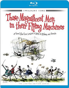 Those Magnificent Men in Their Flying Machines Blu-ray
