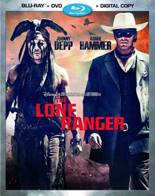 The Lone Ranger Blu-ray