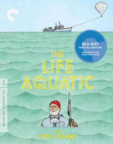 The Life Aquatic with Steve Zissou Blu-ray