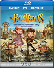 The Boxtrolls Blu-ray