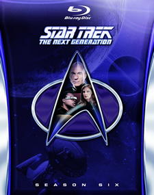 Star Trek: The Next Generation, Season 6 Blu-ray